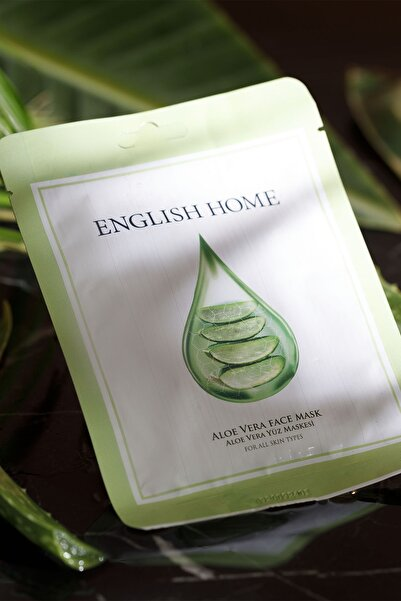 English Home Aloe Vera Maske 25 Ml Yeşil
