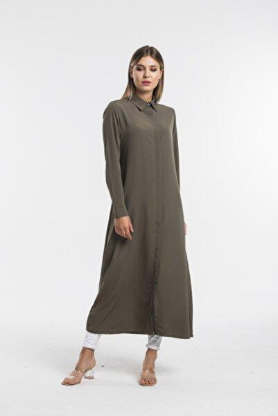 Swass Kadın Haki Uzun Tunik