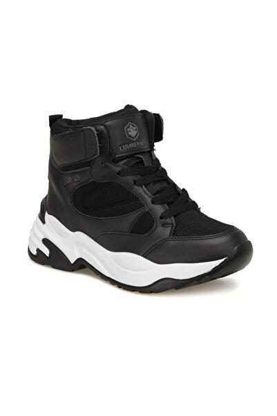 lumberjack Sunday Siyah Kadın Sneaker Ayakkabı