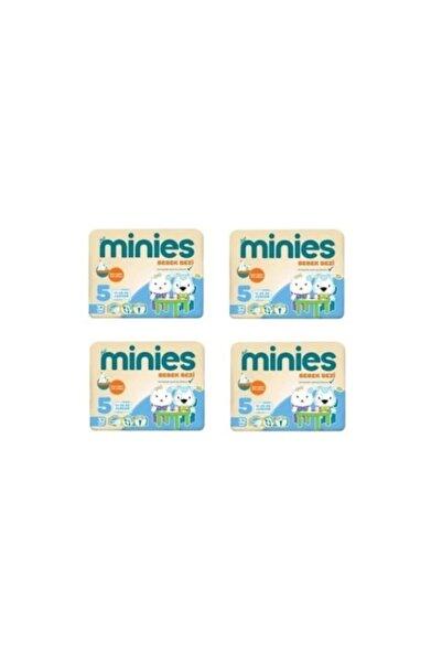 Minies 5 Numara Bebek Bezi 11-25 Kg 32x 4 128 Adet 4lü Paket