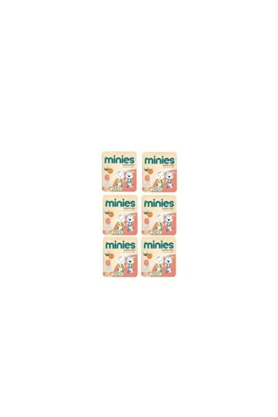 Minies 6 Numara 28x6=168 Adet Bebek Bezi 16+ kg