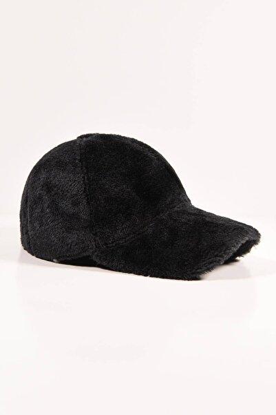 Addax Kadın Siyah Yumuşak Dokulu Şapka ŞPK1039 ADX-0000022995