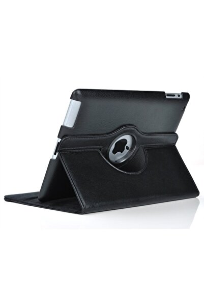 MOBAX Siyah Apple Ipad Mini 5 Dönebilen Standlı Case Kılıf A2133 A2124 A2125 A2126