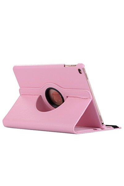 MOBAX Açık Pembe Apple Ipad Mini 5 Dönebilen Standlı Case Kılıf  A2133 A2124 A2125 A2126