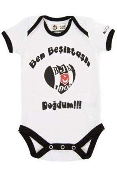 Beşiktaş Orjinal Bebek Kısa Kol Zıbın