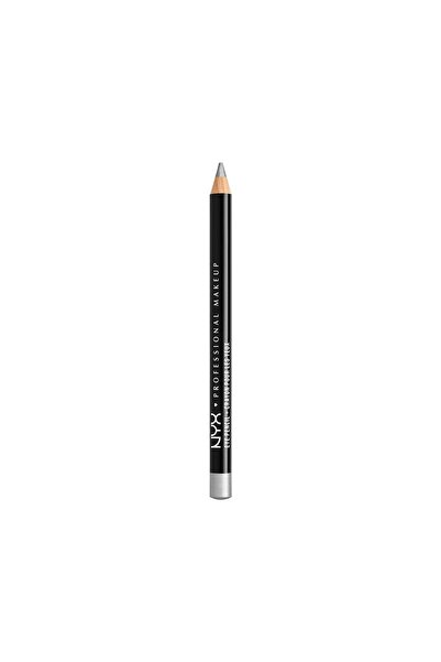 NYX Professional Makeup Göz Kalemi - Slim Eye Pencil Silver 800897109059