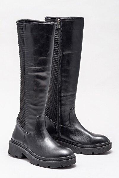 Elle Shoes Kadın Sheren Sıyah Çizme 20KTO18718