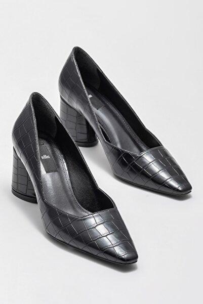 Elle Shoes Kadın Pahola Sıyah Casual Ayakkabı 20KBUJ969-400