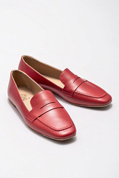 Elle Shoes Kadın Stefa Kırmızı Casual Ayakkabı 20KDY434