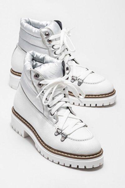 Elle Shoes Kadın Sayda Beyaz Bot & Bootie 20KTP6123