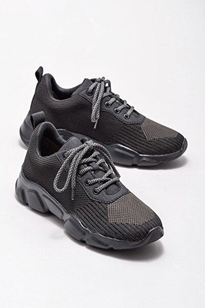 Elle Shoes Kadın Jerrel Sıyah Sneaker 20KGMTR3