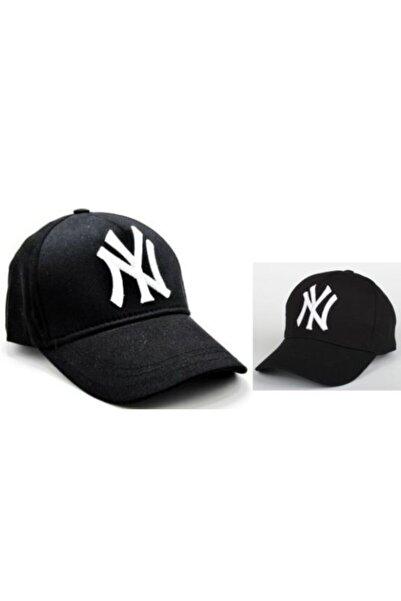 PERLOTUS Ny Ikili Baba Oğul Kombin Şapka Siyah-siyah