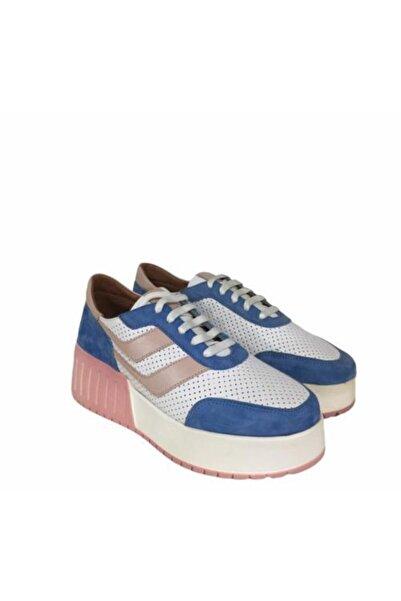 BENDER Kadın Mavi Pudra Ayakkabı