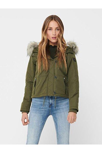 Jack & Jones Only 15207696 Onlpeyton Lıfe Short Fur Jacket Cc Otw Kadın Kaban 20k
