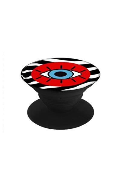 hey lori - Kırmızı Zebra Desen Göz Telefon Tutucu