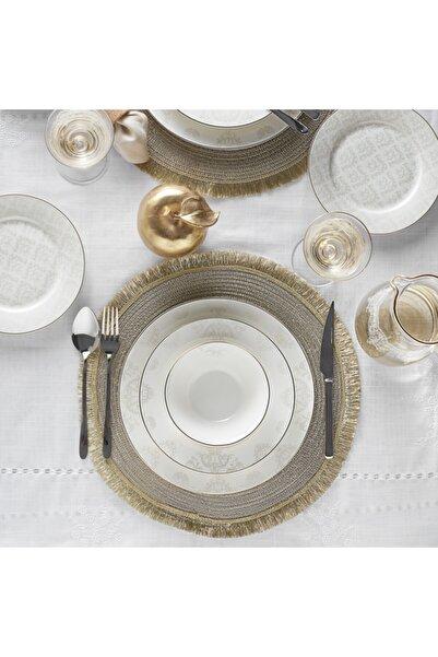 Karaca Siena 56 Parça 12 Kişilik Gold Yemek Takımı