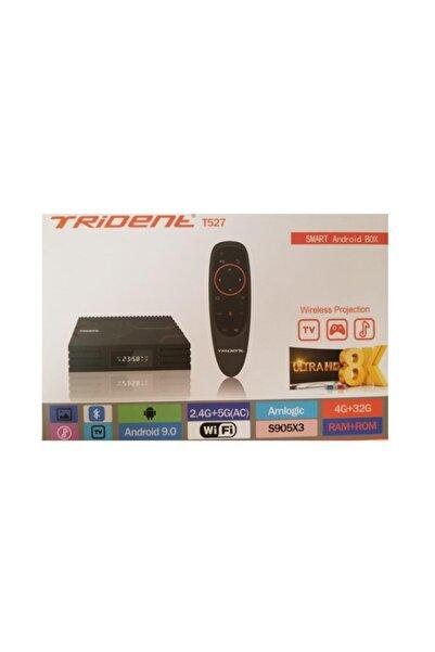 Trident Android Tv T527 Smart Tv Box + Joystick Kumanda
