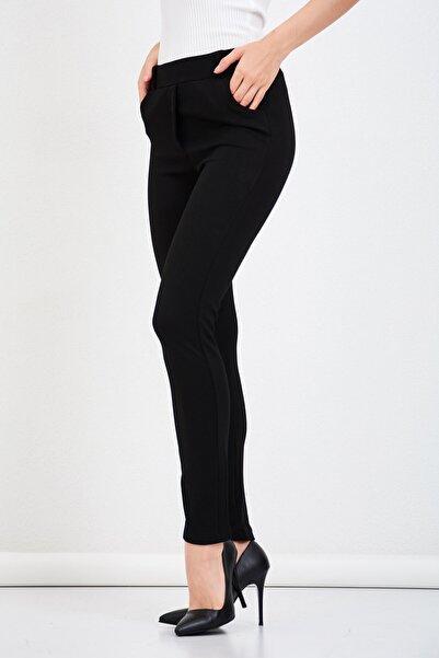 Mossta Kadın Siyah Pantolon Tayt