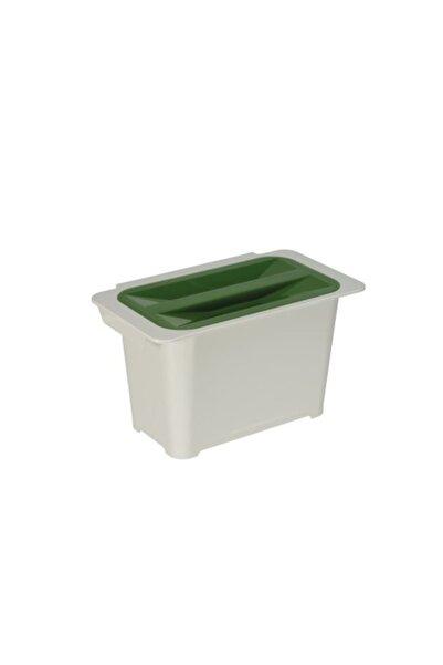 Pelikan Jolly Çok Amaçlı  Orijinal Plastik 6litre Açık Gri Mutfak Çöp Kovası