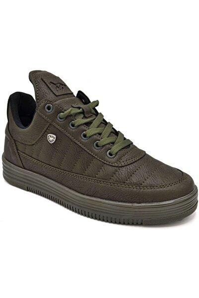 L.A Polo 07 Erkek Haki Sneaker Spor Ayakkabı
