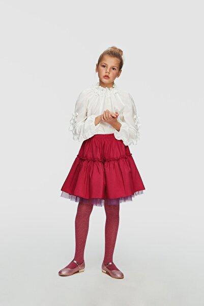 Lia Lea Kız Çocuk Beyaz Bluz 20FWLL03505