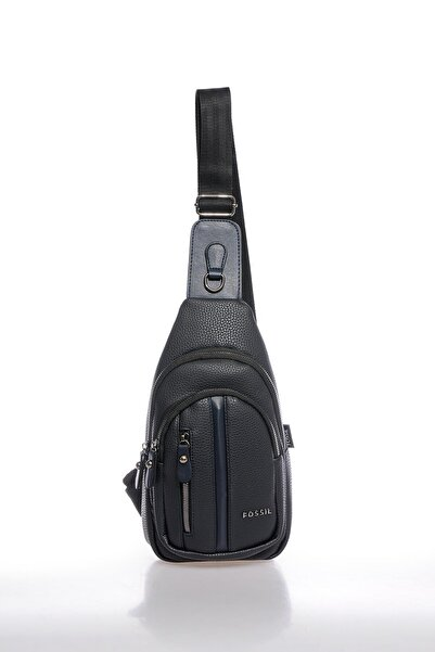 Fossil Fscr064697 Lacivert Unisex Body Bag