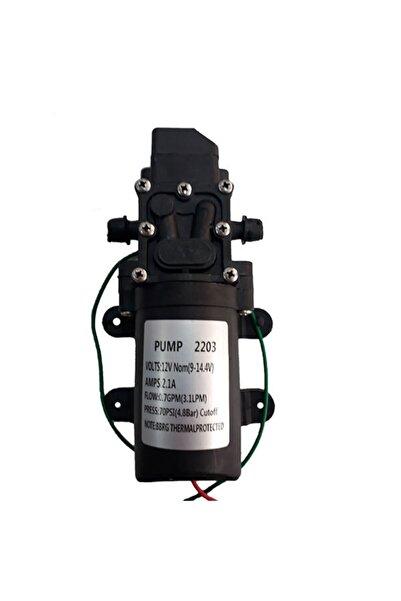 Orac Akülü Su Aktarma Ve Ilaçlama Motoru Pompası 12 Volt-