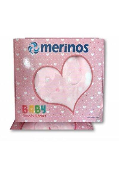 Merinos Kabartmalı Bebek Battaniye