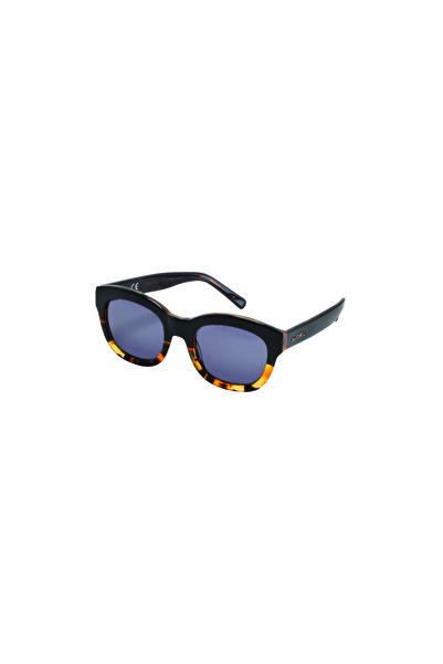 So CHIC... Leopar Desenli Siyah Çerçeveli Güneş Gözlüğü