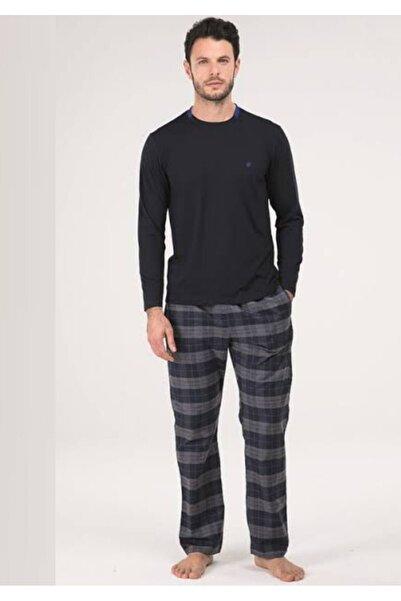 Blackspade Model Erkek Ekoseli Pijama Takımı 30021