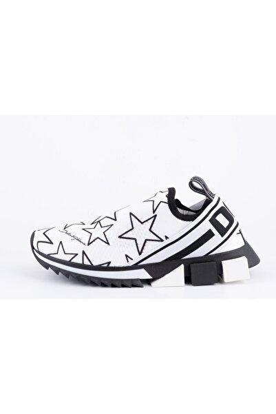 Dolce Gabbana Erkek Beyaz Sneakers