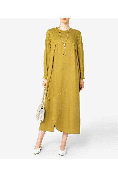 Aker Kadın Yeşil Büyük Beden  Elbise T46599204