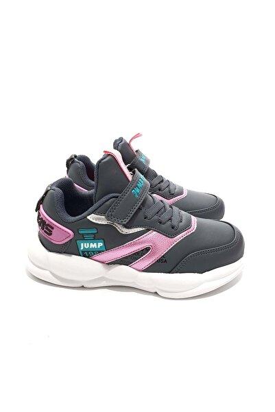 Jump Çocuk Gri Spor Ayakkabı