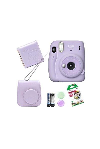 Fujifilm Instax Mini 11 Hediye Seti Lila