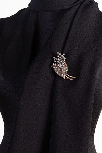 PIERPARIS Broş Bronz Otantık Desenlerle ... Pıerparıs