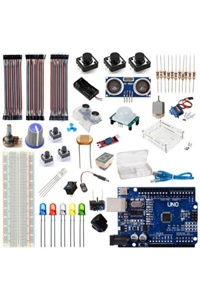 Arduino Başlangıç Seti Uno R3 Micro 38 Parça 149 Adet