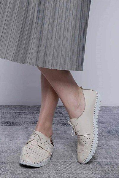 Mossta Kadın Bej Ayakkabı