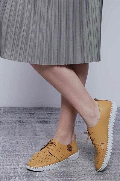 Mossta Kadın Sarı Ayakkabı