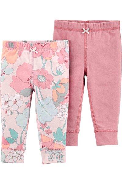 Carter's Kız Bebek Pembe Layette Pantolon 2'li