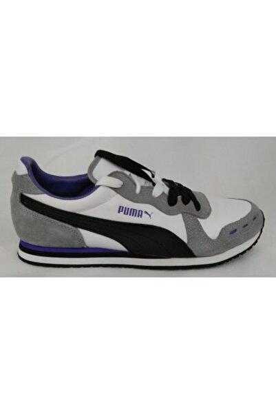 Puma Kadın Beyaz Günlük Yürüyüş Spor Ayakkabısı