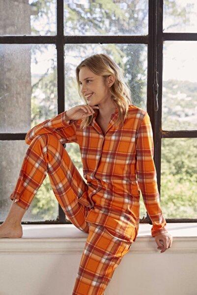 Eros Pijama Eros 27560 Gömlek Pijama Takımı