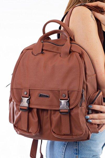 Limoya Bags Kadın Taba Sırt Çantası