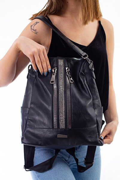 Limoya Bags Kadın Siyah El Ve Sırt Çantası