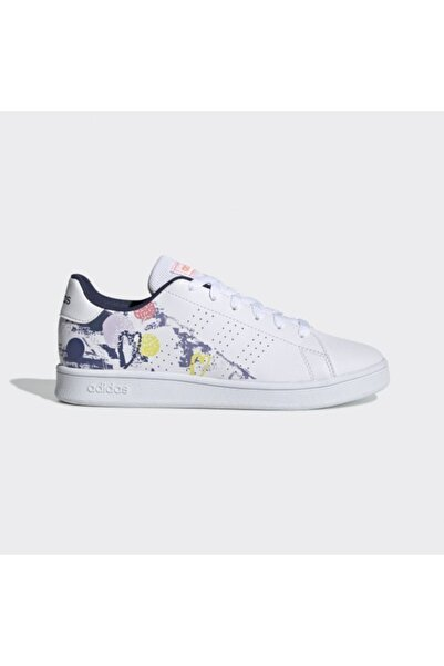 adidas Kadın Beyaz Advantage Ayakkabı K Eg2000