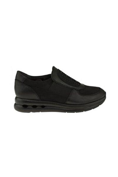 199404 Kadın Günlük Hakiki Deri Ayakkabı