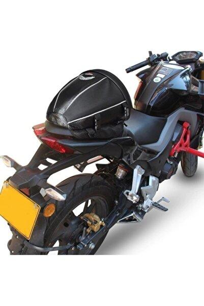 Lions Motosiklet Çanta - Motorcu Çantası - Deri Su Geçirmez Sele Çanta