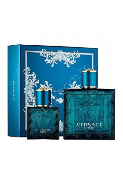 Versace Eros Edt 100 ml Erkek Parfüm Seti 8011003843909