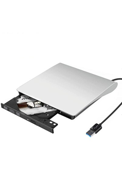 valkyrie Usb 3.0 Harici Taşınabilir Slim Cd Dvd Rom Combo Optik Sürücü Slim Beyaz
