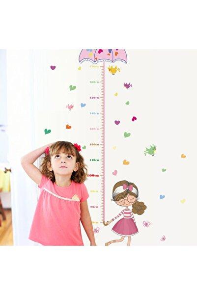 CRYSTAL KIDS Kız Çocuk Bebek Odası Dekorasyonu Boy Ölçen Duvar Süsü Sticker