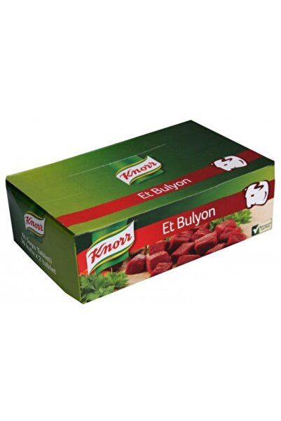 Knorr Et Suyu Bulyon (36'lı)